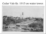 Photos are from Vaughn I. Drumm's Photo Album  The Drumm Family moved to Cedar Vale, KS in 1883 from Ohio  Cedar Va