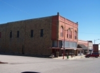 Cedar Vale Museum is located in the Adams Mercantile Building.